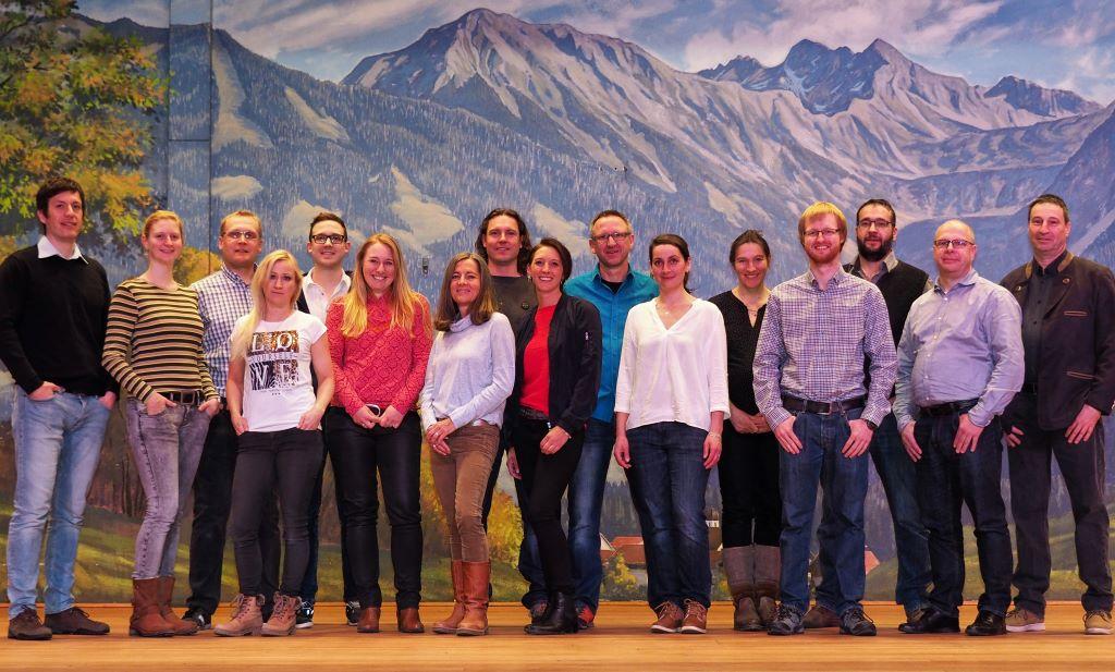 Gruppenfoto FW Gemeinderatskandidaten 2020